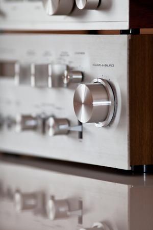 Analog Stereo Volume Knob Control photo
