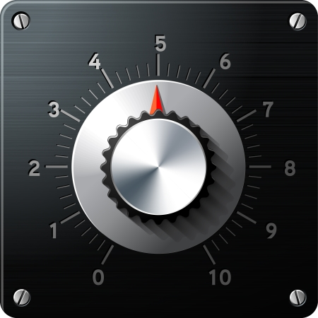 Analog regulator control interface Illustration