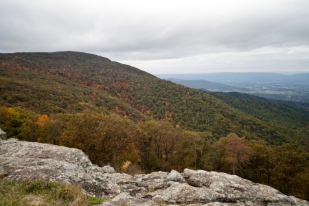 appalachian: Appalachian Mountians Autumn Fall Landscape