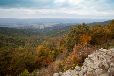 appalachian mountains: Appalachian Mountians Autumn Fall Landscape
