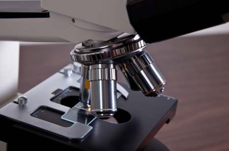 Polarizaci�n microscopio de luz Foto de archivo - 16307226