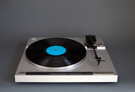 Analog Stereo Turntable Vinyl Record Player  Stock Photo - 16664146