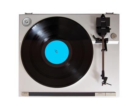 Analog Stereo Turntable Vinyl Record Player Stock Photo - 16664141