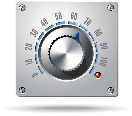 Analoge Control Elektronische Regelknop