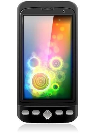telefon: Telefon komórkowy Telefon komórkowy Inteligentny Realistic