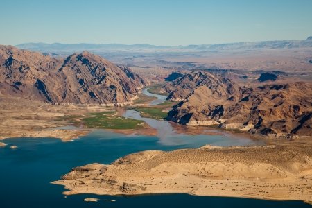mead: Lake Mead Aerial View, America, Arizona and Nevada