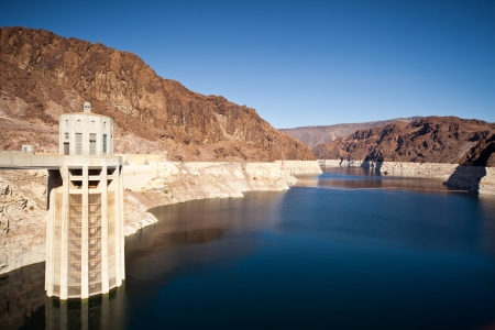 Colorado River Lake Meade close to Hoover Dam scenic landscape vista photo