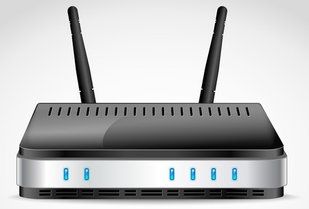 Wi-Fi Router detailed