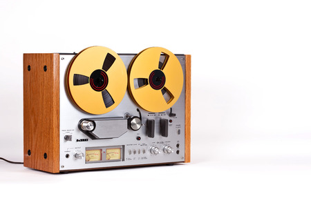 tape: Analog Stereo Open Reel Tape Deck Recorder Player