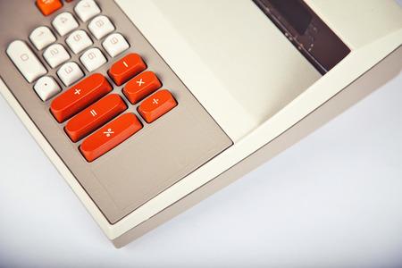 Large Vintage Calculator