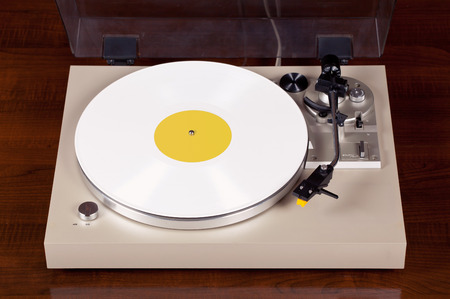 analog: Analog Stereo Turntable Vinyl Record Player