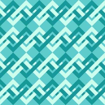 Nahtlose Muster von Interlacing-Linien im Retro-Stil zu Stoff-Design, Tapeten verwendet werden, enthalten Dekorpapier, Scrapbook-Alben, Web-Design, etc Farbfelder der nahtlose Muster in der Datei