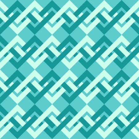 patchwork pattern: Seamless pattern of interlacing lines in retro style  Can be used to fabric design, wallpaper, decorative paper, scrapbook albums, web design, etc  Swatches of seamless pattern included in the file
