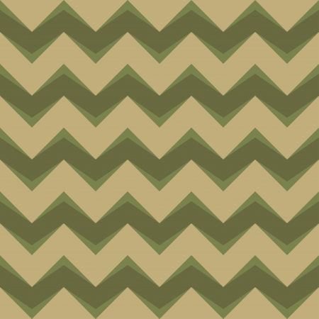 Seamless chevron pattern in retro style  Can be used to fabric design, wallpaper, decorative paper, scrapbook albums, web design, etc  Swatches of seamless pattern included in the file