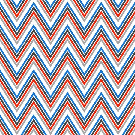 レトロなスタイルの幾何学的な背景でシームレスなシェブロン パターンは等ファイルに含まれているシームレスなパターンのスウォッチ ファブリッ