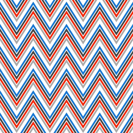 Seamless chevron pattern in retro style  Geometric background  Can be used to fabric design, wallpaper, decorative paper, scrapbook albums, web design, etc  Swatches of seamless pattern included in the file Zdjęcie Seryjne - 20025325
