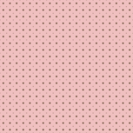 pink and brown: Seamless polka dot pattern in retro style  Can be used to fabric design, wallpaper, decorative paper, scrapbook albums, web design, etc  Swatches of seamless pattern included in the file