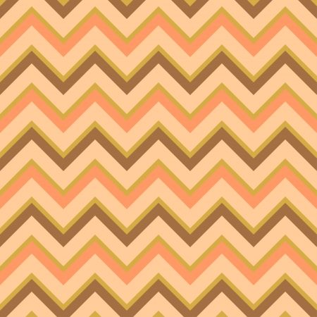 Seamless chevron pattern in retro style, soft colors Geometric background Can be used to fabric design, wallpaper, decorative paper, scrapbook albums, web design, etc Swatches of seamless pattern included in the file for ease of use