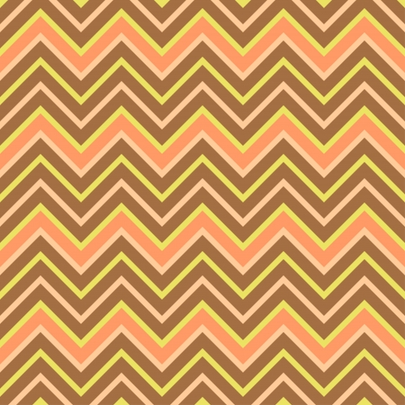Seamless chevron pattern in retro style, soft colors  Geometric background  Can be used to fabric design, wallpaper, decorative paper, scrapbook albums, web design, etc  Swatches of seamless pattern included in the file for ease of use  Illustration