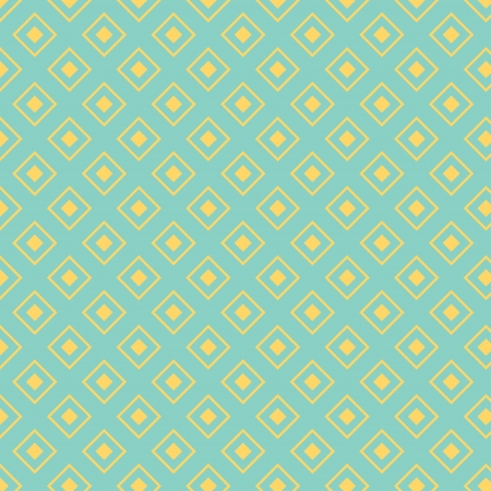 Seamless pattern with diamond shapes in retro style, soft colors  Geometric background  Can be used to fabric design, wallpaper, decorative paper, scrapbook albums, web design, etc  Swatches of seamless pattern included in the file for ease of use