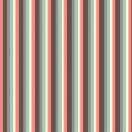 Seamless pattern with stripes in retro style, soft colors  Can be used to fabric design, wallpaper, decorative paper, scrapbook albums, web design, etc  Swatches of seamless pattern included in the file for ease of use  Vector