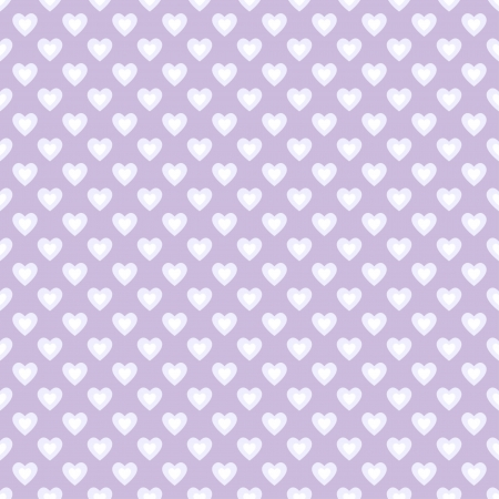 shabby chic: Seamless pattern with hearts in retro style, subtle colors  Can be used to fabric design, wallpaper, decorative paper, scrapbook albums, web design, etc  Swatches of seamless pattern included in the file for ease of use  Illustration