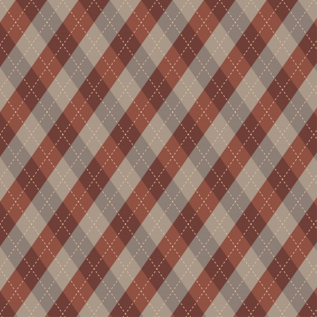 ease: Seamless argyle pattern  Diamond shapes background  Can be used to cloth design, decorative paper, web design, etc  Swatches of seamless pattern included in the file for ease of use  Illustration