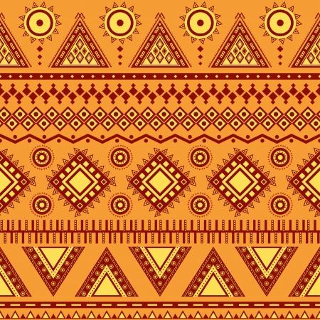 Aztec nahtlose Muster mit Stoff-Design für die Herstellung von Kleidung, Zubehör verwendet werden, dekorative Papier, Verpackung, Umschlag, Web-Design, etc Farbfelder der nahtlose Muster in der Datei enthalten Standard-Bild - 20025644