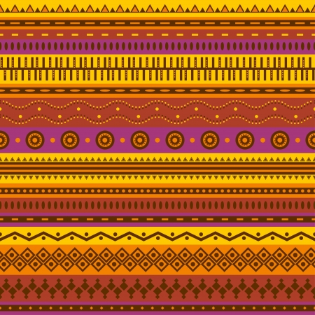 Aztec seamless pattern  Can be used in fabric design for making of clothes, accessories; decorative paper, wrapping, envelope; web design, etc  Swatches of seamless pattern included in the file Zdjęcie Seryjne - 20025621