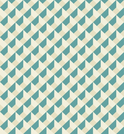 Mosaic seamless pattern in retro style  Vintage soft colors  Can be used to fabric design, wallpaper, decorative paper, web design, etc  Swatch of seamless pattern included in the file  Ilustracja