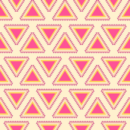 Tribal striped seamless pattern. Aztec background. Soft colors. Can be used in fabric design for making of clothes, accessories; creating decorative paper, wrapping, envelope; in web design, etc. Vector