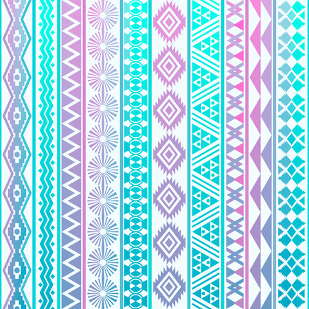 Tribal striped seamless pattern. Geometric background. Can be used in fabric design for making of clothes, accessories; creating decorative paper, wrapping, envelope; in web design, etc.
