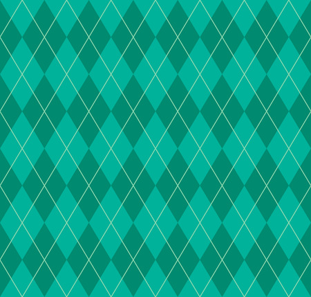 Seamless argyle pattern. Diamond shapes background. Vector illustration. Vector