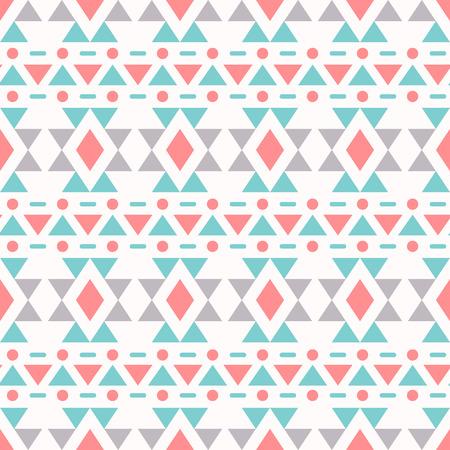 Ethnic seamless pattern. Aztec background. Vector illustration. Vector
