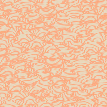 modern wallpaper: Wavy seamless pattern. Hand drawn curly background. Modern wallpaper. Sea waves. Vector illustration. Illustration