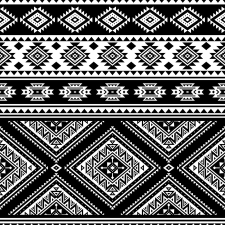 Aztec seamless pattern, vector. Native american motifs. Tribal geometric background. Can be used for textile design, yoga clothes and accessories, backpacks, bags, phone cases, etc. Reklamní fotografie - 122124382