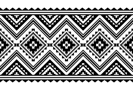 Aztec style vector ornament. Seamless pattern. Tribal geometric background. Can be use for linens design, accessories for interior decor in boho style, fashionable tribe cloth, rugs, case prints, etc Reklamní fotografie - 122423858