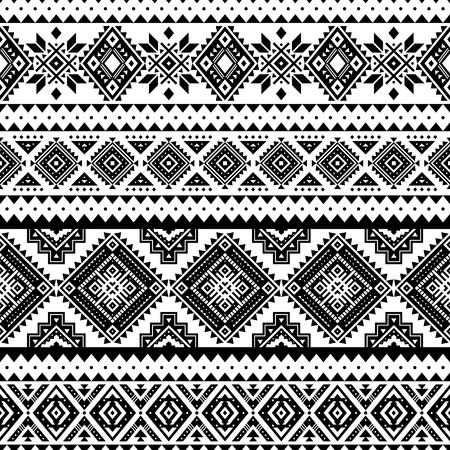 Modèle sans couture aztèque, vecteur. Motifs amérindiens. Fond géométrique tribal. Peut être utilisé pour la conception textile, les vêtements et accessoires de yoga, les sacs à dos, les sacs, les étuis pour téléphone, etc.
