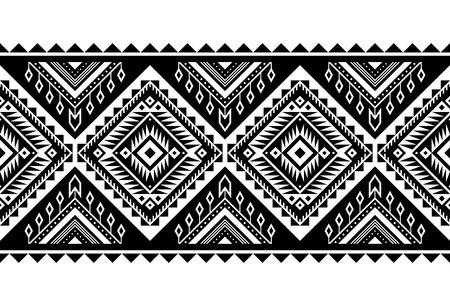 Azteekse stijl vector ornament. Naadloze patroon. Tribale geometrische achtergrond. Kan worden gebruikt voor linnengoedontwerp, accessoires voor interieurdecoratie in boho-stijl, modieuze stamdoek, vloerkleden, hoesafdrukken, enz.