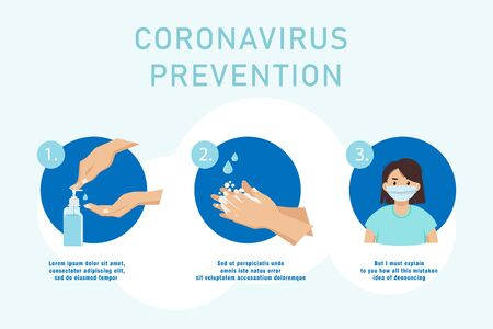 MERS-Cov - middle East respiratory syndrome coronavirus , Novel coronavirus 2019-nCoV , Infected man sneezing into a handkerchief with banner in hand. Concept - Lets stop coronavirus