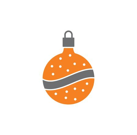 Christmas toy icon on background for graphic and web design. Creative illustration concept symbol for web or mobile app.