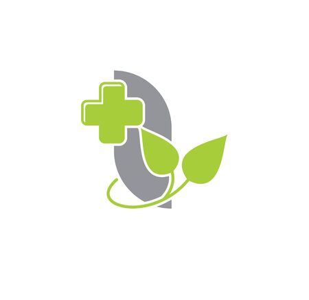 Natural medicine related icon on background for graphic and web design. Creative illustration concept symbol for web or mobile app