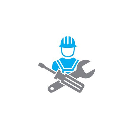 Engineering related icon on background for graphic and web design. Creative illustration concept symbol for web or mobile app