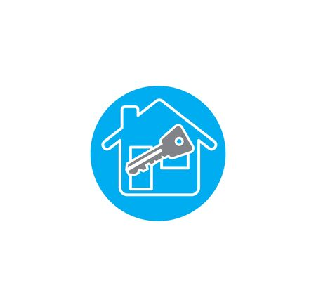 Smart security related icon on background for graphic and web design. Creative illustration concept symbol for web or mobile app