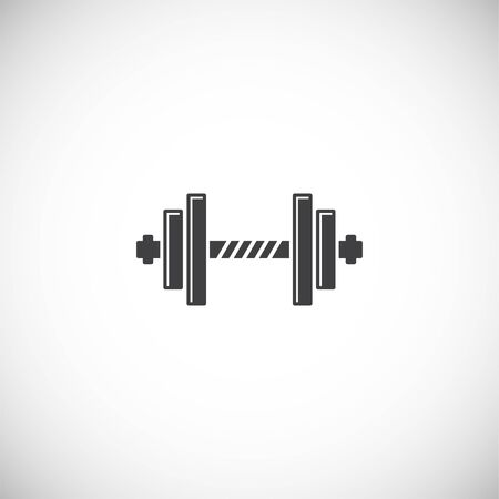 Sport related icon on background for graphic and web design. Creative illustration concept symbol for web or mobile app