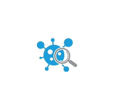 Quarantine related icon on background for graphic and web design. Creative illustration concept symbol for web or mobile app.