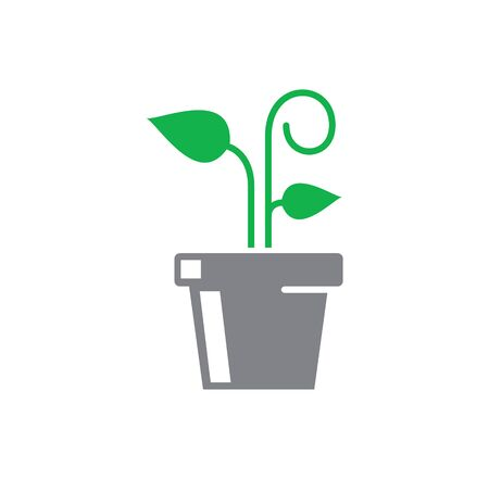 Seed related icon on background for graphic and web design. Creative illustration concept symbol for web or mobile app. Illustration