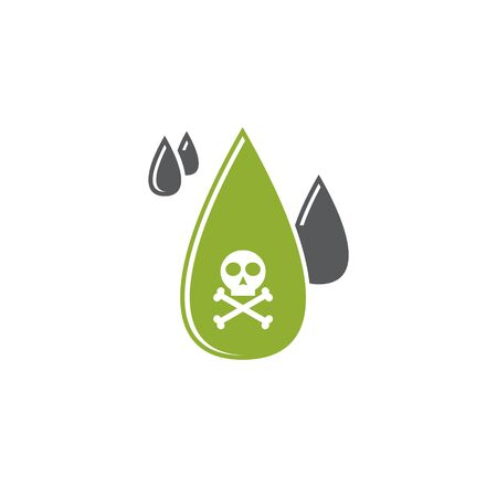Acid related icon on background for graphic and web design. Creative illustration concept symbol for web or mobile app
