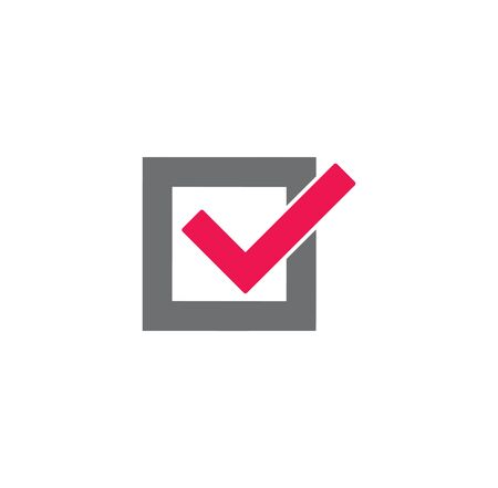 Check box icon on background for graphic and web design. Creative illustration concept symbol for web or mobile app 版權商用圖片 - 144271152