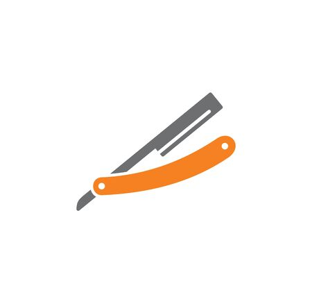 Barber related icon on background for graphic and web design. Creative illustration concept symbol for web or mobile app
